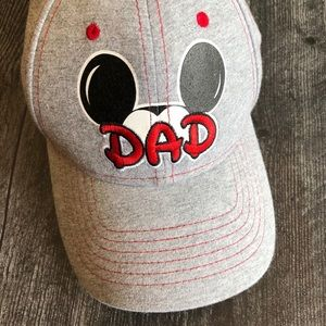 "Disney ""Dad"" baseball style cap."